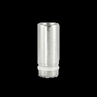 Stainless Steel Straight Drip Tip, Short